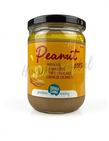 Crema cacahuete sin sal Bio...